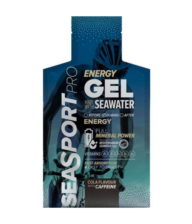 Seasport PRO Energy Gel Cola & Cafeína 32ml T