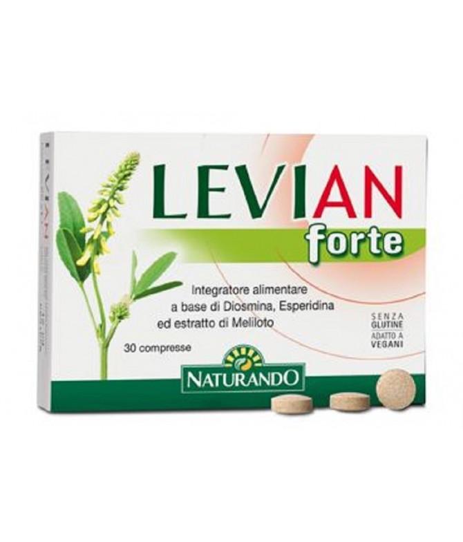 Levian Forte Suplemento Alimentar Sistema Circulatório 30 Comprimidos
