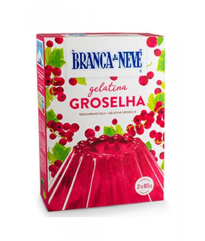 Branca de Neve Gelatina Grosella 2x85gr T