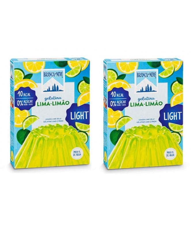 PACK 2 Branca de Neve Gelatina Light Lima-Limão 31gr