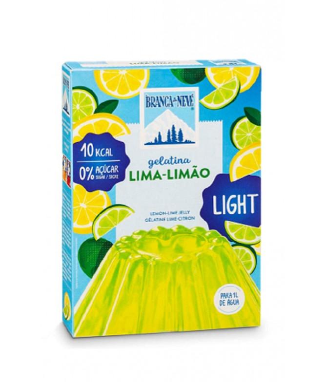 Branca de Neve Gelatina Light Lima-Limão 31gr