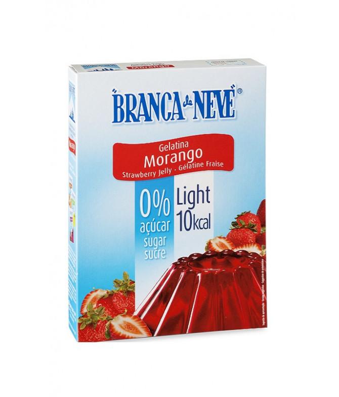 Branca de Neve Gelatina Light Morango 31gr