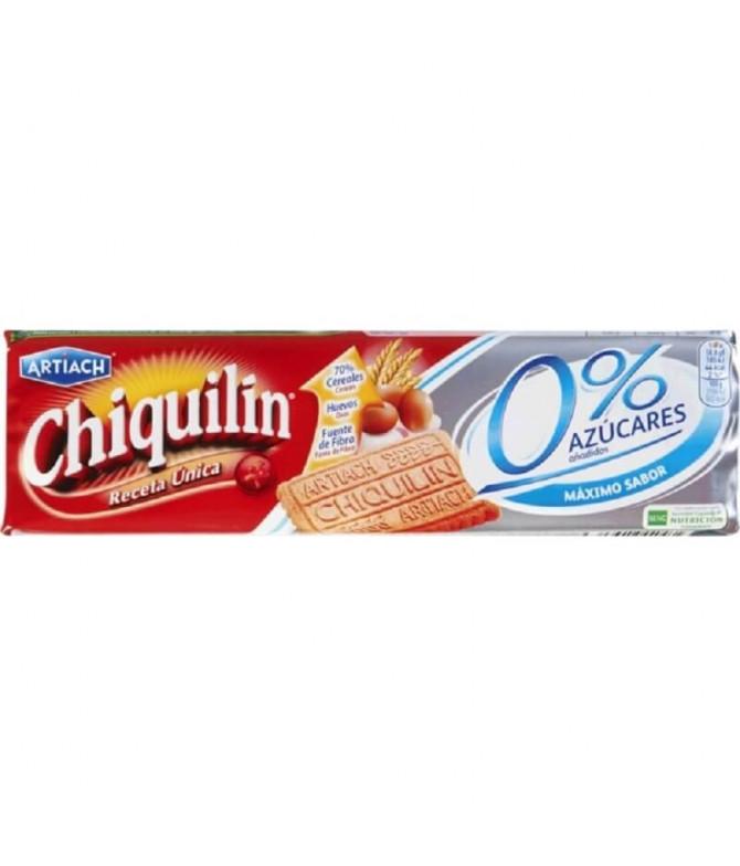 Artiach Chiquilín Galleta 0% Azúcares 175gr T