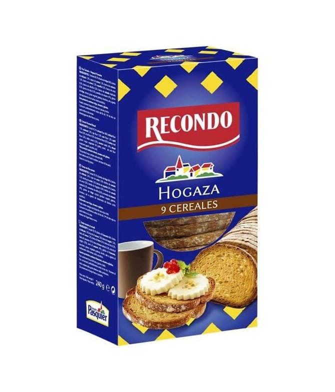 Recondo Tosta Pão 9 Cereais 240gr