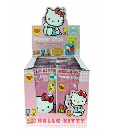 Bip Hello Kitty Power Dips 18gr 1 UNIDADE