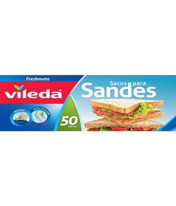 Vileda Sacos para Sandes 50un