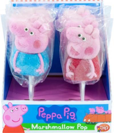 Bip Marshmallow Pop Porquinha Peppa 42gr 1 UNIDADE