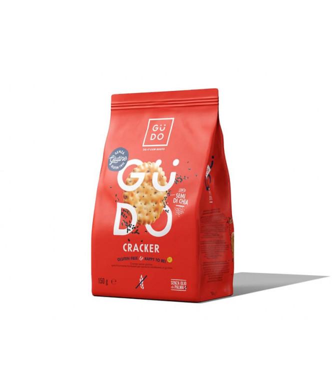 Güdo Cracker Sementes Chia 150gr
