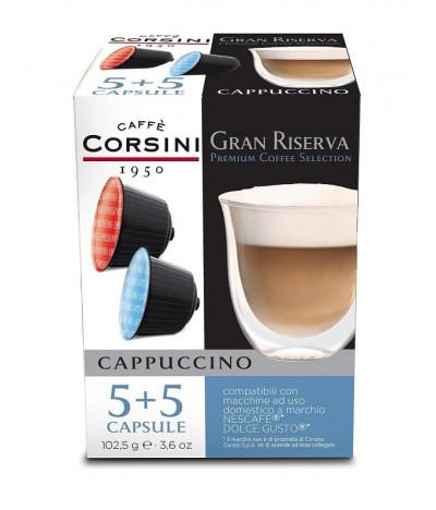 Caffè Corsini Capuccino Dolce Gusto 5+5un