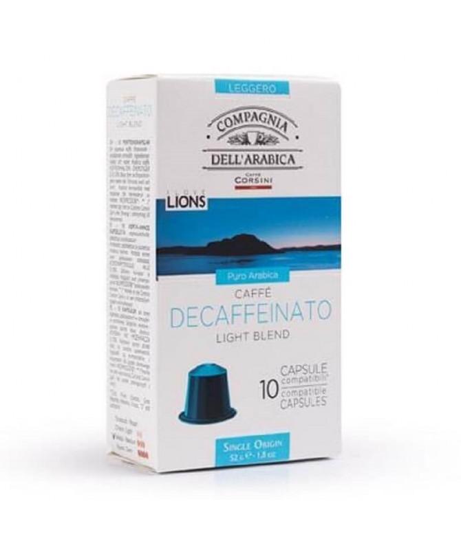 Caffè Corsini Descafeinado comp Nespresso 10un