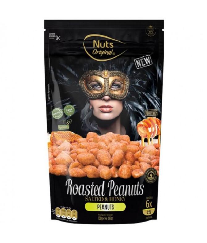 Nuts Original Cacahuetes Tostados Sal & Miel 130gr T