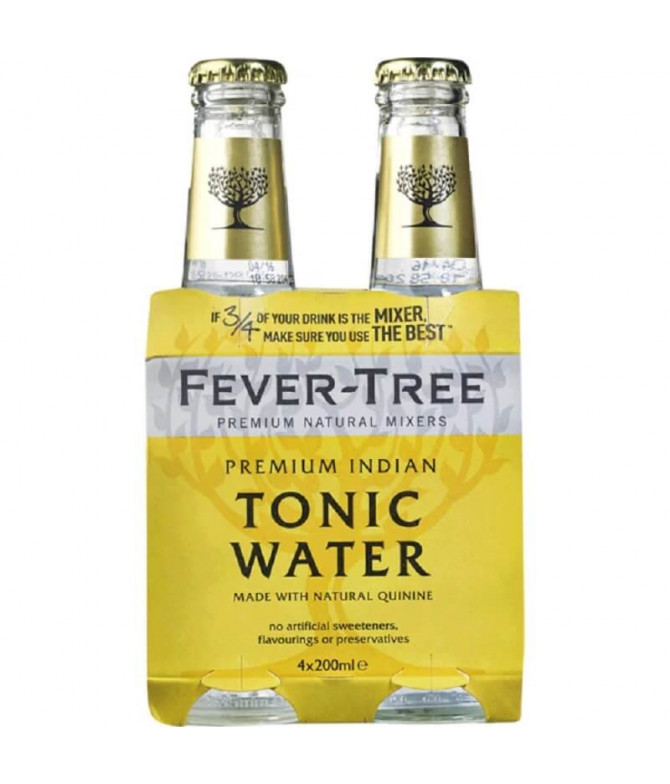 Fever-Tree Agua Tónica Indian 4x20cl T