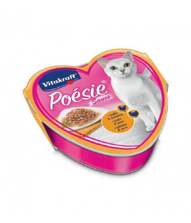 Vitakraft Poésie Pollo & Pavo Gato 85gr T