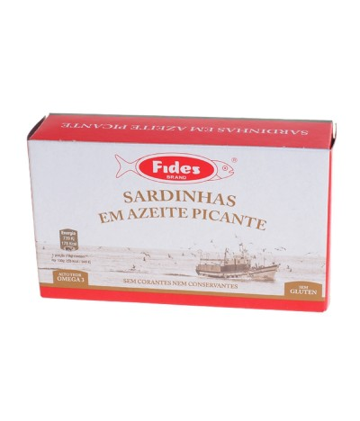 Fides Sardinhas em Azeite Picante 120gr
