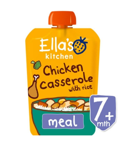 Ella's Kitchen Refeição Frango Arroz 130gr