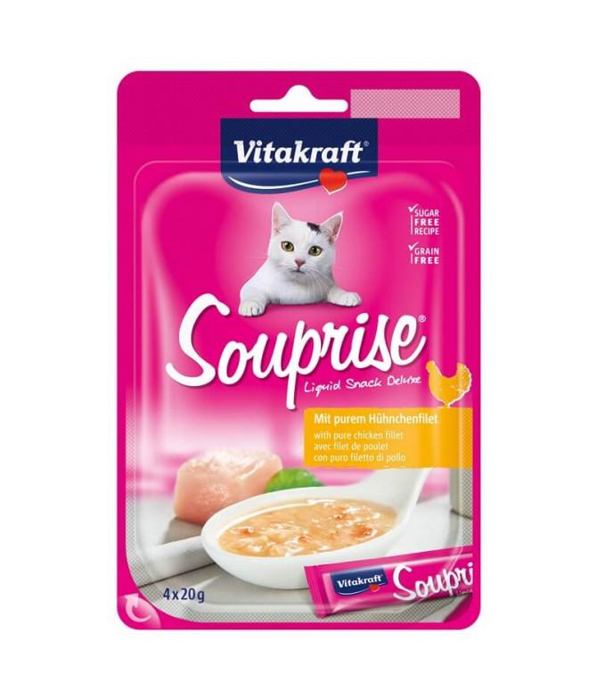 Vitakraft Souprise Sopa Pollo Gato 4x20gr T