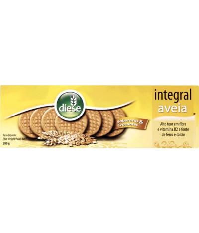 Diese Biscoito Integral Avena 200gr
