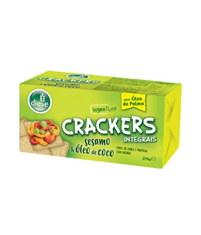 Diese Cracker Integral Sésamo Aceite Coco 275gr T