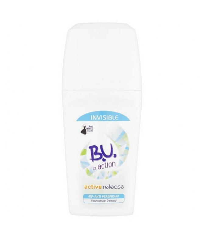 BU Deo Roll-On In Action Active Release 50ml