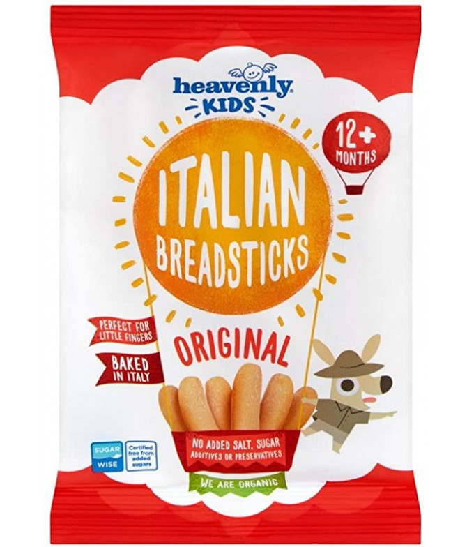Heavenly Palitos Pão Italian Breadsticks BIO 30gr
