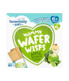 Heavenly Bolacha Wafer Wisps Maçã Espinafre Kale BIO 60gr