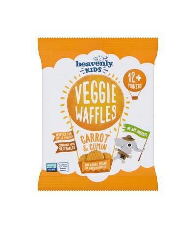 Heavenly Veggie Waffle Zanahoria Comino 10gr T