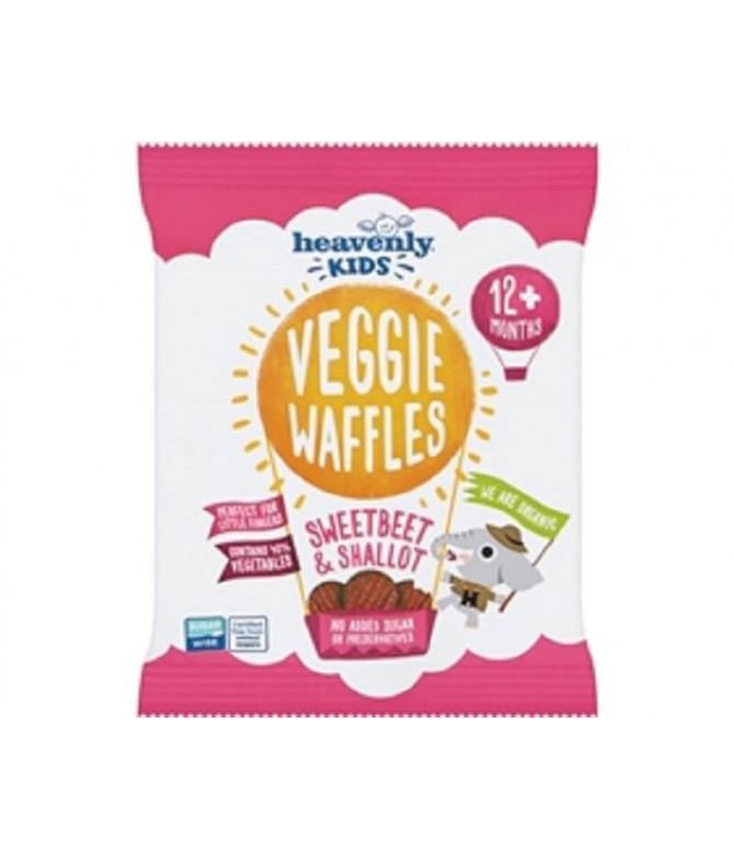 Heavenly Veggie Waffle Beterraba Chalota 10gr