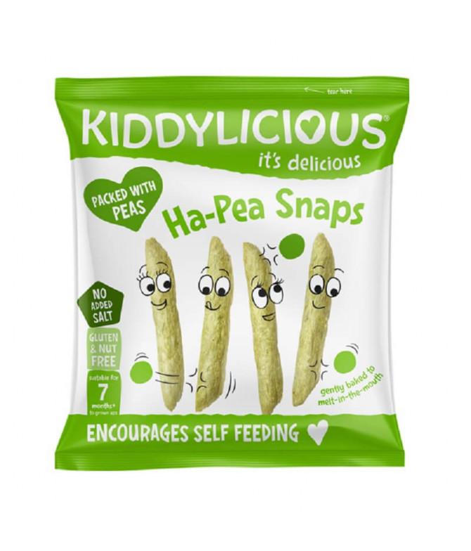 Kiddylicious Snack Arroz Guisantes 15gr T
