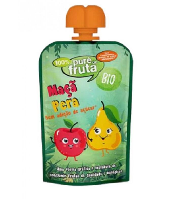 Próvida Puré Fruta Manzana & Pera BIO 100gr T