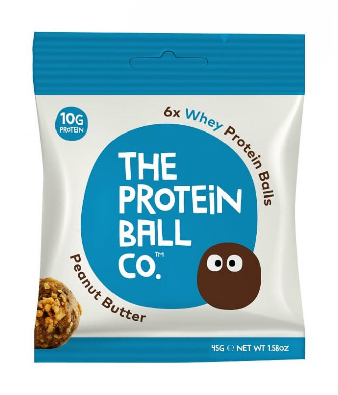 The Protein Ball Mantequilla Cacahuete 45gr T