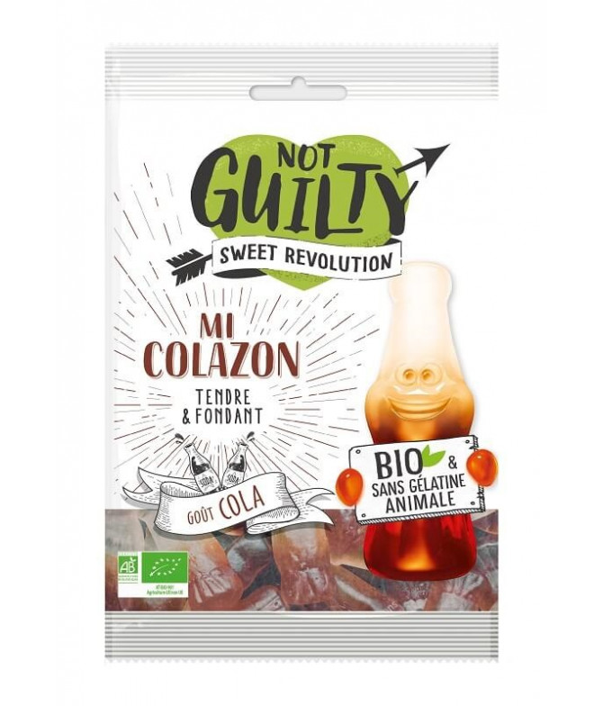 Not Guilty Gominolas Cola BIO 100gr T