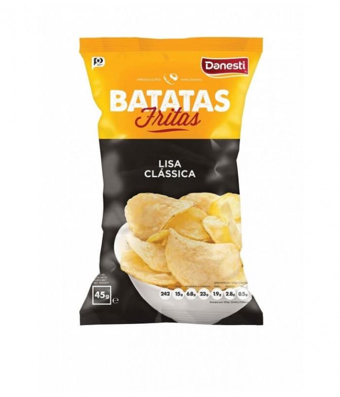 Danesti Patatas Lisas Clásica 45gr T