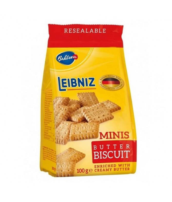 Leibniz Mini Galletas Mantequilla 100gr T