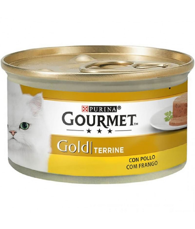 Gourmet Gold Terrine Pollo 85gr T