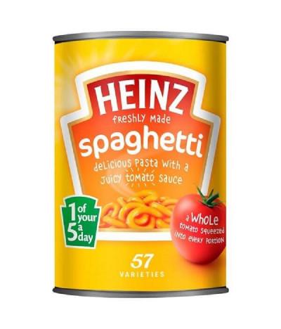 Heinz Spaghetti con Tomate 400gr T