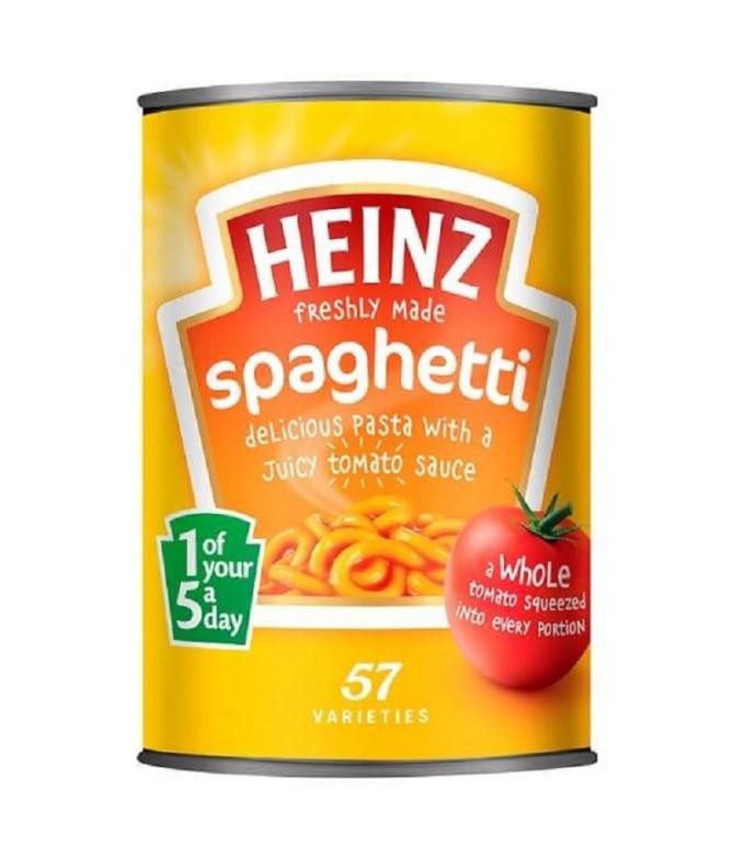 Heinz Spaghetti com Tomate 400gr