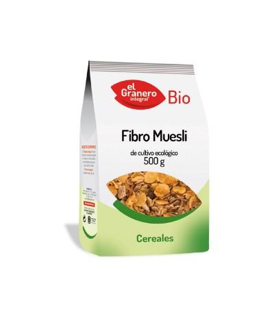 El Granero Cereais Fibro Muesli BIO 500gr