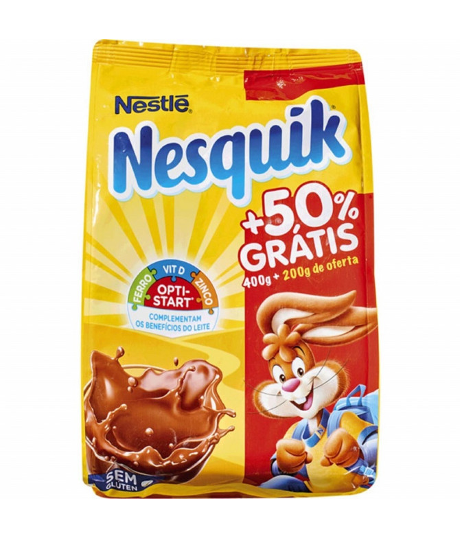 Nesquik Cacao Soluble Instantáneo 400+200gr T