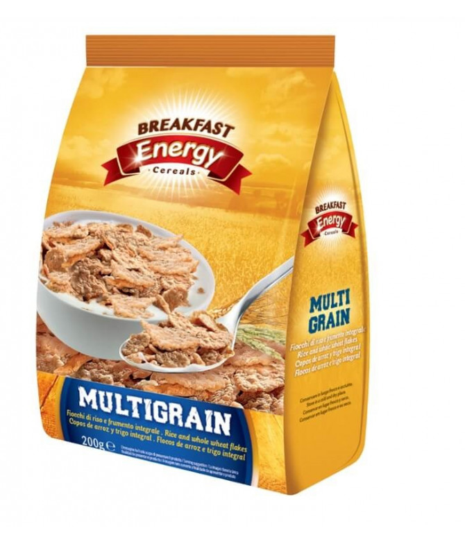Breakfast Energy Cereales Multigrain 200gr T