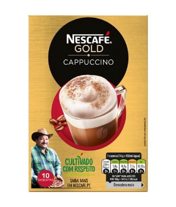 Nescafé Cappuccino 10x14gr