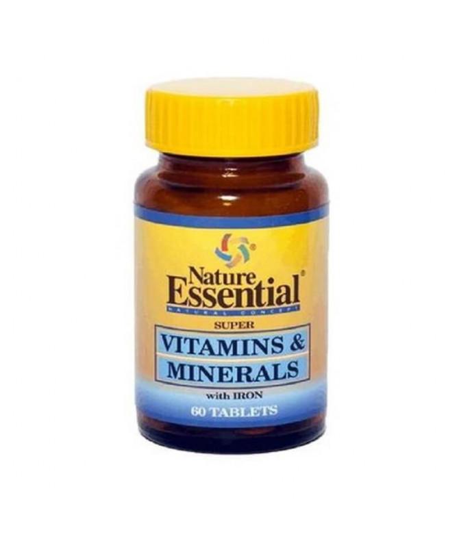 Nature Essential Vitaminas & Minerales 60un T