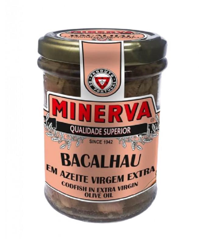 Minerva Bacalao Aceite Virgen Extra 212gr T