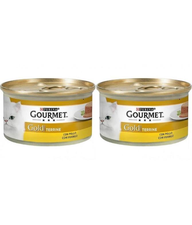 PACK 2 Gourmet Gold Terrine Pollo 85gr