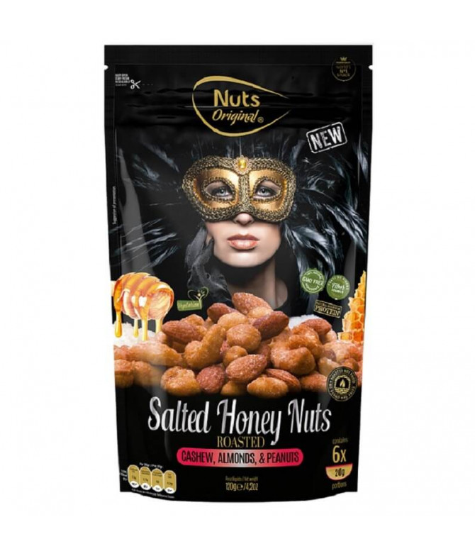 Nuts Original Mix Frutos Secos Miel & Sal 120gr T
