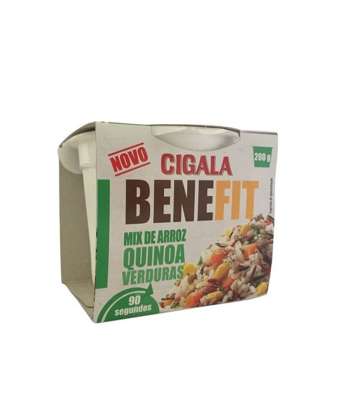 Cigala Benefit Mix Arroz Quinoa Verduras 200gr T