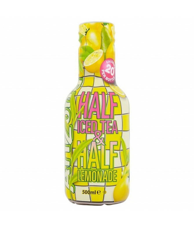 Arizona Ice Tea Chá Preto Limonada 500ml