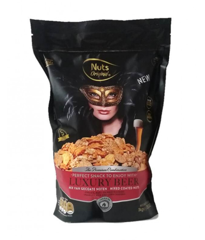 Nuts Original Luxury Beer 1Kg T