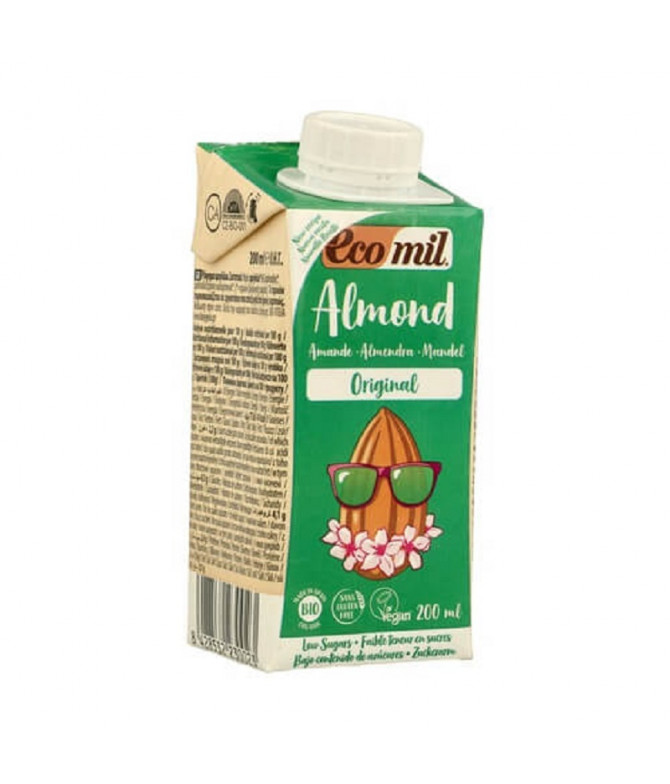 EcoMil Bebida de Almendra BIO 200ml T