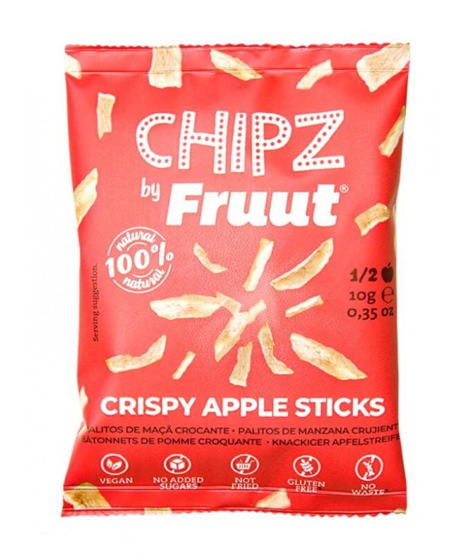 Fruut Chipz Manzana Roja 10gr T