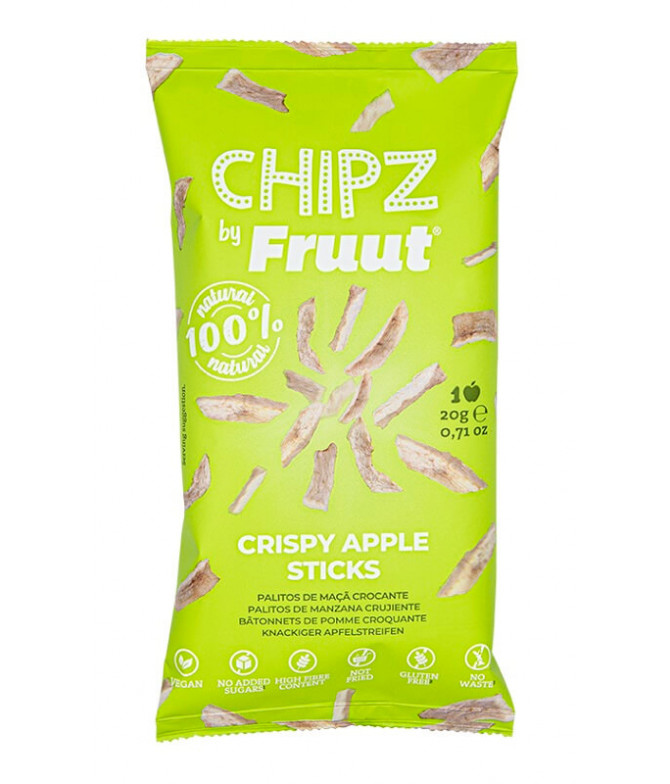 Fruut Chipz Maçã Verde 20gr